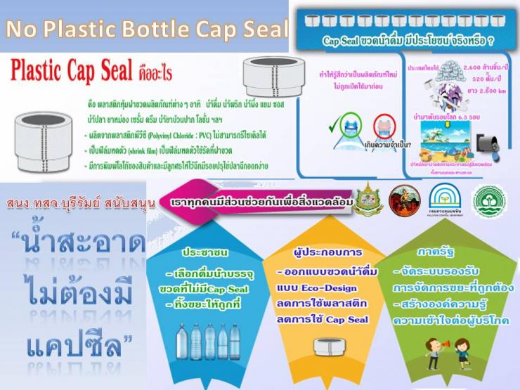 No Plastic Bottle Cap Seal